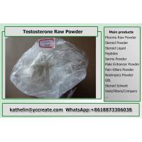 Quality White Color Testosterone Based Steroids Raw Powder , Muscle Growth Steroid for sale