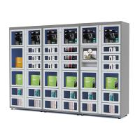 24 Hours Electronic Touch Screen Locker Vending Machines with Coin / Banknote / Card Payment
