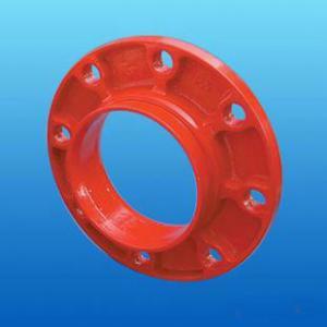Quality China Bitumen Painting Ductile Iron Flange PN25 -- Manufacturer for sale