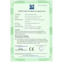 Ruian Mingyuan Machinery Co.,Ltd Certifications