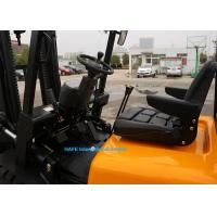 Quality 4700kg Weight 3.5T Diesel Engine Forklift Truck FD35 With Soft Bag Clamp for sale