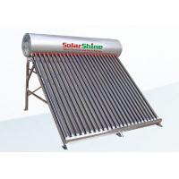 Quality Unpressurized Thermosyphon Solar Water Heater Direct Plug Connection Type for sale
