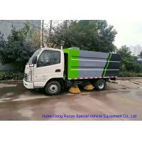 Quality KAMA Mini Road Cleaning Truck With 4 Brushes , Truck Mounted Sweeper for sale