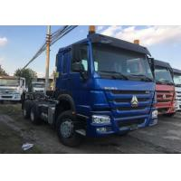 Quality HOWO 76 Cabin Prime Mover Truck Manual Transmission D12.42 420HP Engine for sale
