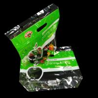 China Custom Printing Recyclable OPP Resealable zipper Plastic Bags with Punching Hole for fruit Packing on sale