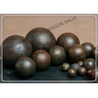 Quality Forged And Cast Steel Grinding Balls , High Hardness Steel Balls For Ball Mill for sale