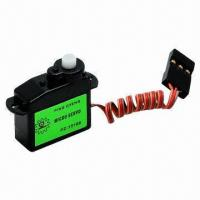 Quality 3.7g Micro Analog Servo with Plastic Gears for sale