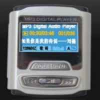 China Flash MP3 Player with OLED Display Screen and Built-in Li-ion Battery on sale