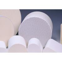 Quality Cylindrical Honeycomb Ceramic Support Customize For Catalytic Converters for sale