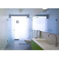 Quality Safety Tempered Frosted Glass Sheets / Custom Frosted Glass For Bathroom Door for sale