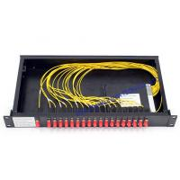 Quality Rack Mount cwdm multiplexer / FC Connector Athermal AWG Module high speed for sale