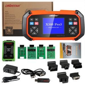 Quality Immobiliser Odometer Adjustment Car Key Programmer OBDSTAR X300 PRO3 X-300 Key Master for sale