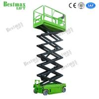Quality Electric Self Propelled Scissor Lift Platform Hydraulic Lift 10m Working Height 230Kg for sale