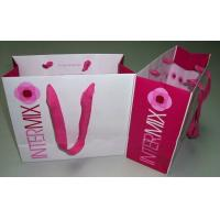 Quality Recycle Craft Custom Paper Bag Printing Flower Design for sale