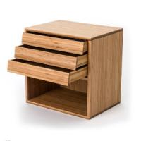 Quality China Cheap Bamboo Document Storage Rack Box for sale