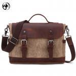 Quality 2019 canvas handbag cross body shoulder bag Retro style bag sling men leather sling bag for men for sale