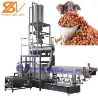 Quality Puffing Snack Dry Kibble Dry Dog Food Making Machine 380v / 50hz for sale