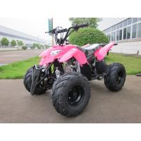 Quality Red 50cc Electric Quad ATV 4 Wheeler Automatic Engine For Children / Kids for sale