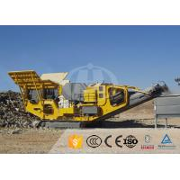 Quality High Chassis Mobile Crushing Equipment Vehicular Convenient Safety Operation for sale