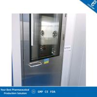 Quality Automatic Blowing Cleanroom Air Shower / Pass Through Box UV Light HEPA Filter for sale