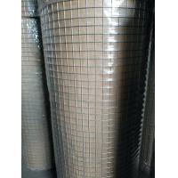 Quality Hot Dipped Galvanised Weld Mesh Rolls ,  Welded Wire Fence Panels Square Hope Shape for sale