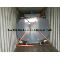 Quality High Strength 17500L Hcl Cargo Hydrochloric Acid Tank For Chemical Truck Body for sale