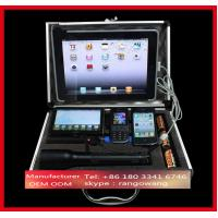 Quality Aluminum Laptop and Test Equipment Silver flight case for sale