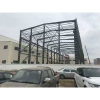 Quality Painting Q355B Warehouse Steel Structure Workshop Tie Rod Bracing for sale