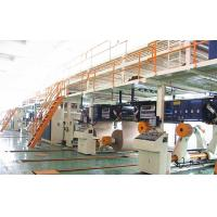 Quality 2 layers corrugated paper production line carton box making machine for sale