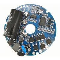 Buy cheap 230V AC Round Brushless BLDC Motor Driver for axial flow ventilator fan from wholesalers