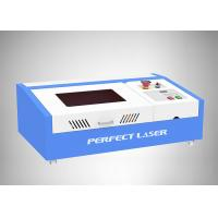 Quality 40W Small CO2 Laser Engraving Machine Working Area 300*200mm For Rubber Stamp for sale