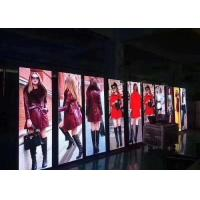 Buy Indoor Window P3 P4 Curtain LED Display Screen 62500 Dots / Sqm Pixel Density at wholesale prices