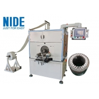 Quality Semi Auto Industrial Pump Motor Slot Paper Inserting Machine For Stator Making for sale