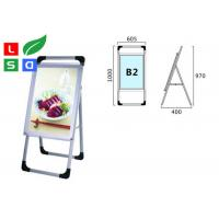 China Single Sided Trade Show Displays LED Poster Display Aluminum Structure For Free Standing on sale