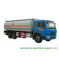 Quality FAW 6x4 Diesel Oil Tanker Truck For Transportation With PTO Fuel  Pump 19CBM for sale