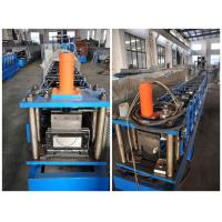China Durable 7.5Kw Aluminum Round Gutter Roll Forming Machine For Downspout on sale