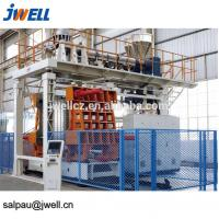 Quality 1000L Barrel Bottle Blowing Machine , Stretch Blow Molding Machine Accumulating Type for sale