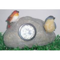 China Polyresin solar light, animal with LED light on sale