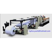 Quality Automatic High Speed Rotary Paper Sheeter Stacker Four Roll Edge Align Cutting for sale