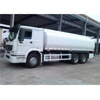 Quality Sinotruk HOWO 6x4 Tanker Truck Trailer 18000L 18cbm Fuel Tank Trailer for sale