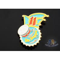 Full Color Enamel Custom And Stock Metal Lapel Pin Badges Gift Items Imitation for sale