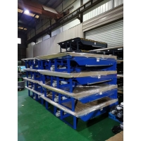 Quality 40000LBS Hydraulic Electric Dock Leveler For Logistic Park for sale