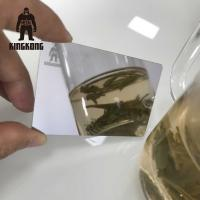 Buy Anti Fingerprint  Mirror Business Cards , Stainless Steel Business Cards 85x54mm at wholesale prices