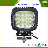Quality Back Cover Replacable 48 Watt LED Work Light Made of Genuine CREE LED Chips for sale