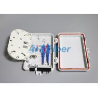Quality 4 Core Fiber Optic Distribution Box For Outdoor FTTH Drop Cable Optical Termination Box for sale