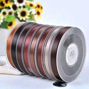 China Polyaster single face satin ribbon on sale