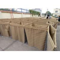 Quality Galvanized Welded Military Hesco Barriers Bastion With Sand For Defence for sale