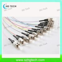 Quality Colorful ST Fiber Optic Pigtail 0.9mm for sale