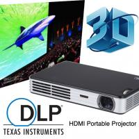 China Best Seller HD 2D To 3D Convert DLP Mini Video Projector With HDMI Support 1080p on sale