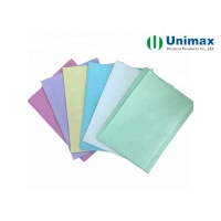Quality Waterproof Laminated PE Tissue 2ply Disposable Plastic Aprons for sale